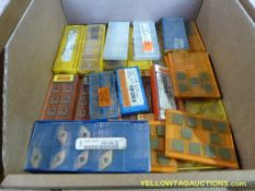 Lot of Assorted Cutting Tools   Brands Include:; Sandvick; BTW; Kennametal