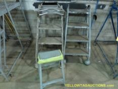 Lot of (4) Assorted Step Ladders   (2) 3'; (2) 2'