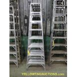 Lot of (4) 8' Ladders
