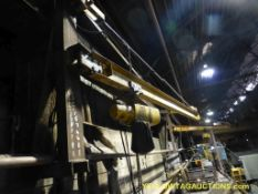 1 Ton Jib Crane w/Yale Chain Hoist