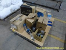 Lot of Assorted Components   Includes:; Proshield Paint Suit; Sanding Wheel; Spray Adhesive