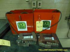 Lot of (2) Parker Research Corp Contour Probe   Model No. DA-400; 117 VAC; 4A