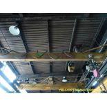 2 Ton Overhead Crane   Includes: Coffing 2 Ton Chain Hoist