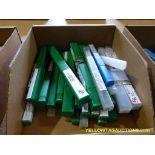 Lot of Assorted Drill Bits   Brands Include:; CL; Precision; Greenfield Industries