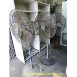 Lot of (3) Industrial Fans