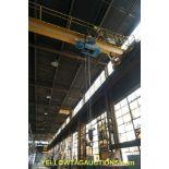 Gaffey 7-1/2 Ton Overhead Bridge Crane   Serial No. 6324-CC; Radio Controlled