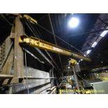 Gaffey 1 Ton Jib Crane w/Yale Chain Hoist
