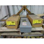 Lot of (3) Square D Circuit Breaker Enclosures | Model No. FA100AWK; 100A; 600 VAC; 500 VDC