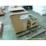 Lot of (1) Heater and (1) Motor   (1) Q Mark Unit Heater Cat No. MUH-15-4, 480V, 15000W, Control Vol