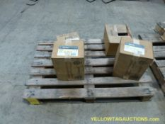 Lot of (4) Assorted Electrical Components | (3) GE Heavy Duty Safety Switches | Cat No. TH3361, Mode