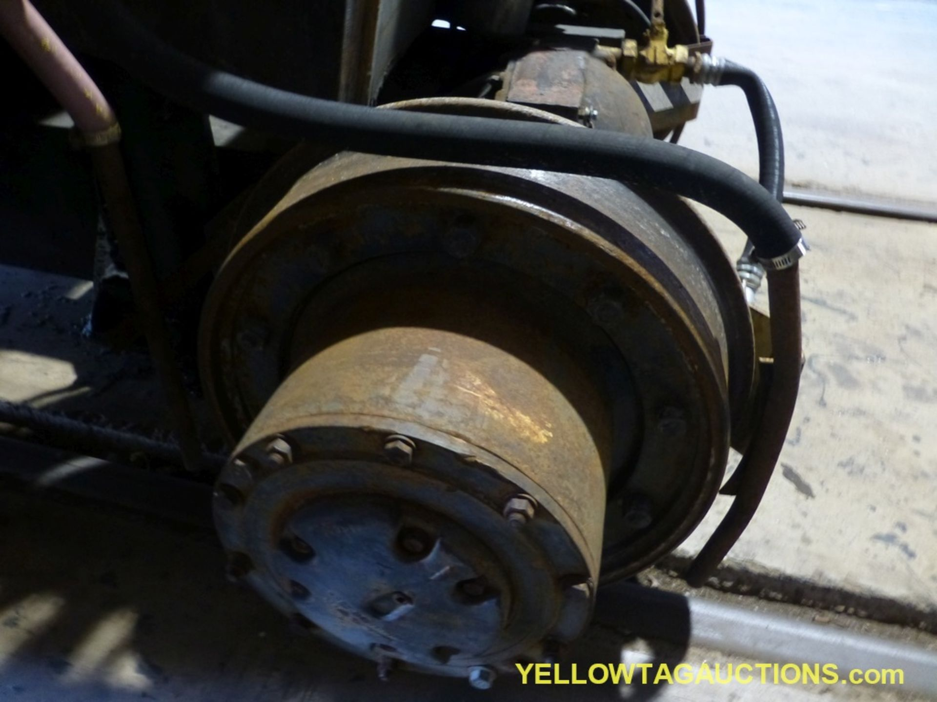 Track Mobile Rail Car Mover | Model No. 7TM; Bad Tie Rod - Image 40 of 42