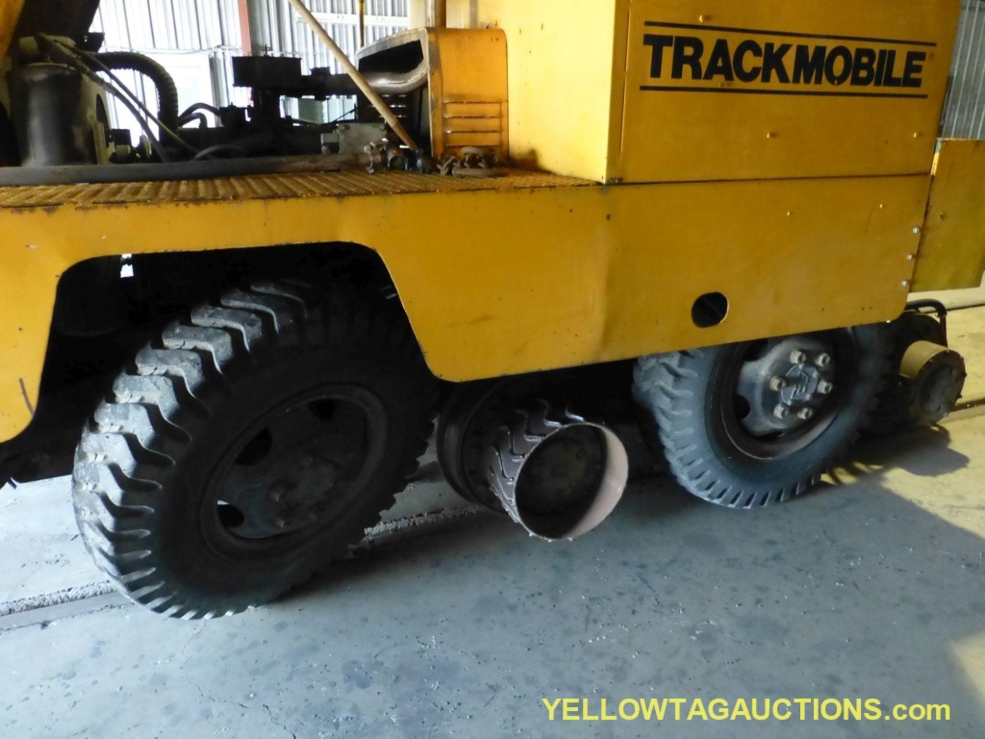 Lot 4429 - Track Mobile Rail Car Mover | Model No. 7TM; Bad Tie Rod