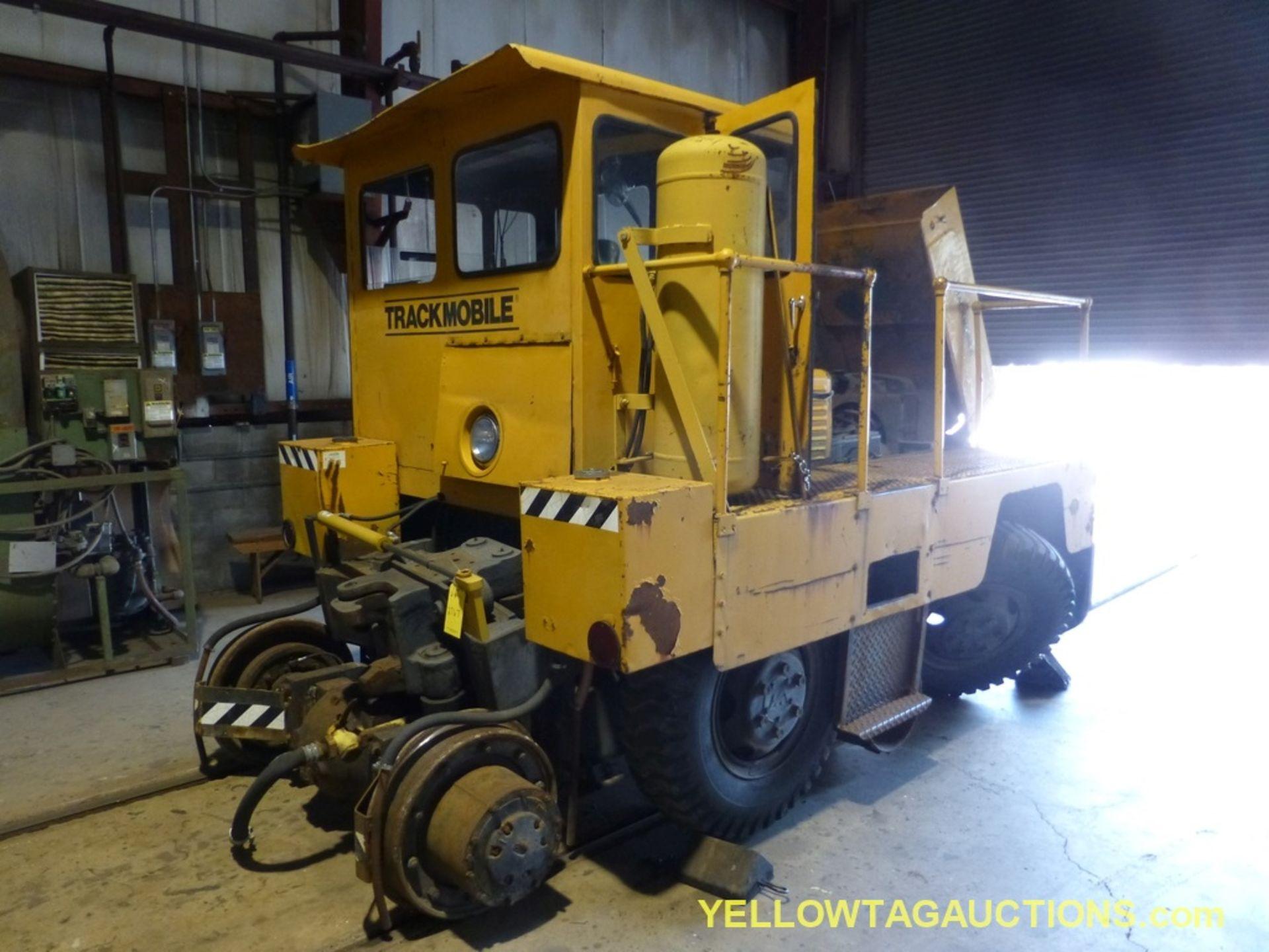 Track Mobile Rail Car Mover | Model No. 7TM; Bad Tie Rod