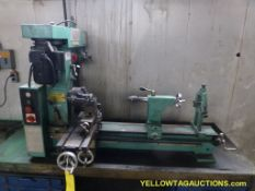 "Grizzly Industrial Combo Lathe/Mill | Model No. G 9729; 31""; 3/4 HP"