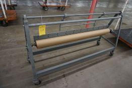 Paper Roll Cart w/Dispenser|Lot Tag: 529