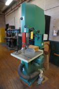 """Grizzly 63620 24"""" Vertical Bandsaw