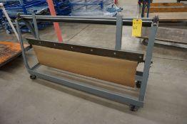Paper Roll Cart w/Dispenser|Lot Tag: 528