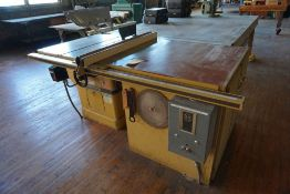 Powermatic Table Saw|Model No. 714; Includes: Accu-Fence; 3PH|Lot Tag: 724