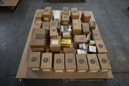 Lot of Allen Bradley Electrical Components|Includes:; Starters; Push Buttons|Lot Tag: 458
