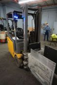 "2016 Jungheinrich 48V Electric Forklift | 3,100 lb Capacity; 122"" Lift; *Delayed Removal*"