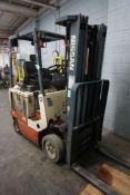 Nissan 48V Electric Forklift|2,470 lb Capacity; 1625 lb Residual Capacity; *Delayed Removal*
