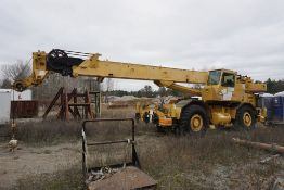 Grove RT625 Rough Terrain Hydraulic Crane|Serial No. 50488; 25 Ton Capacity; Max Height, No Boom: