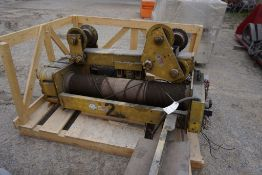 Wright 10 Ton Overhead Crane|Includes Acco Overload Cutoff; Part No. 39170