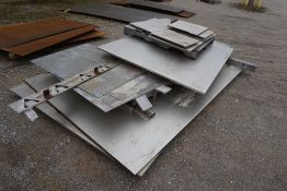 Lot of (10) Pallets of Assorted Steel and Stainless Steel