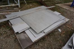 Lot of (5) Pallets of Assorted Steel and Stainless Steel