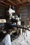 Willis Microcut Mill w/Newall Sapphire Pro Interface Model No. 5000VS; S/N: 970141S; 5 HP Variable