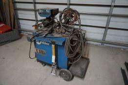 Miller CP-302 Welder with Wire Feeder|Miller S-52E 115 Constant Speed Wire Feeder