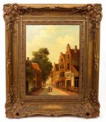 WAGEMANS, Pieter Johannes Alexander (*1879 Den Haag +1955 ebd.), Öl/ Holz, Niederländische