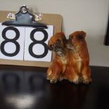 2 Boxers ornament