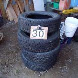 4 tires , 225.65x R17