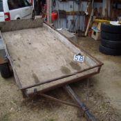 Homebuilt Tilt Deck trailer NVSN