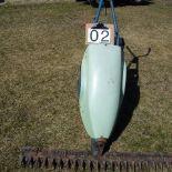 3 ft. walk behind sickle mower, gas powered