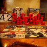 Baseball memorabilia & books