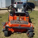 "Kubota ZG327 ride on mower,60"" belly mount mower, sn:183183VD464"