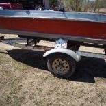 Aluminium boat & Sprint Trailer
