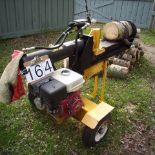 Wood splitter, gas powered