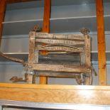 Antique wooden Rapid wringer