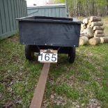 Metal dump trailer
