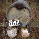 45 gal steel drum
