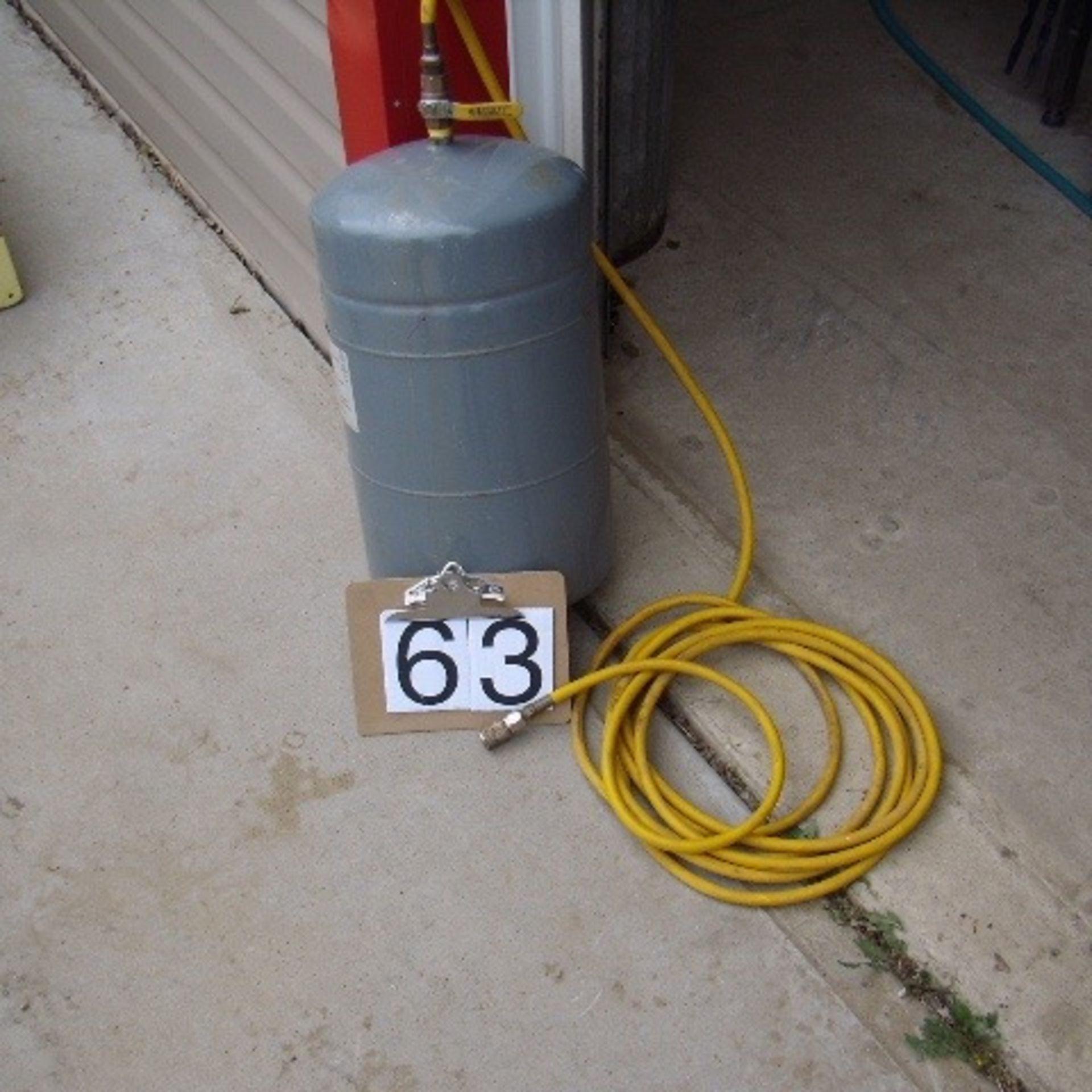Air tank & hose