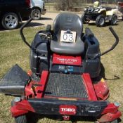 "Toro Trimcutter SS5060 ride on 50 "" mower sn: 311001629"
