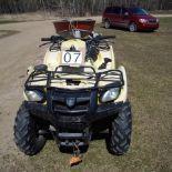 Suzuki Vinson Quad runner,4x4 500 Quadmaster sn: