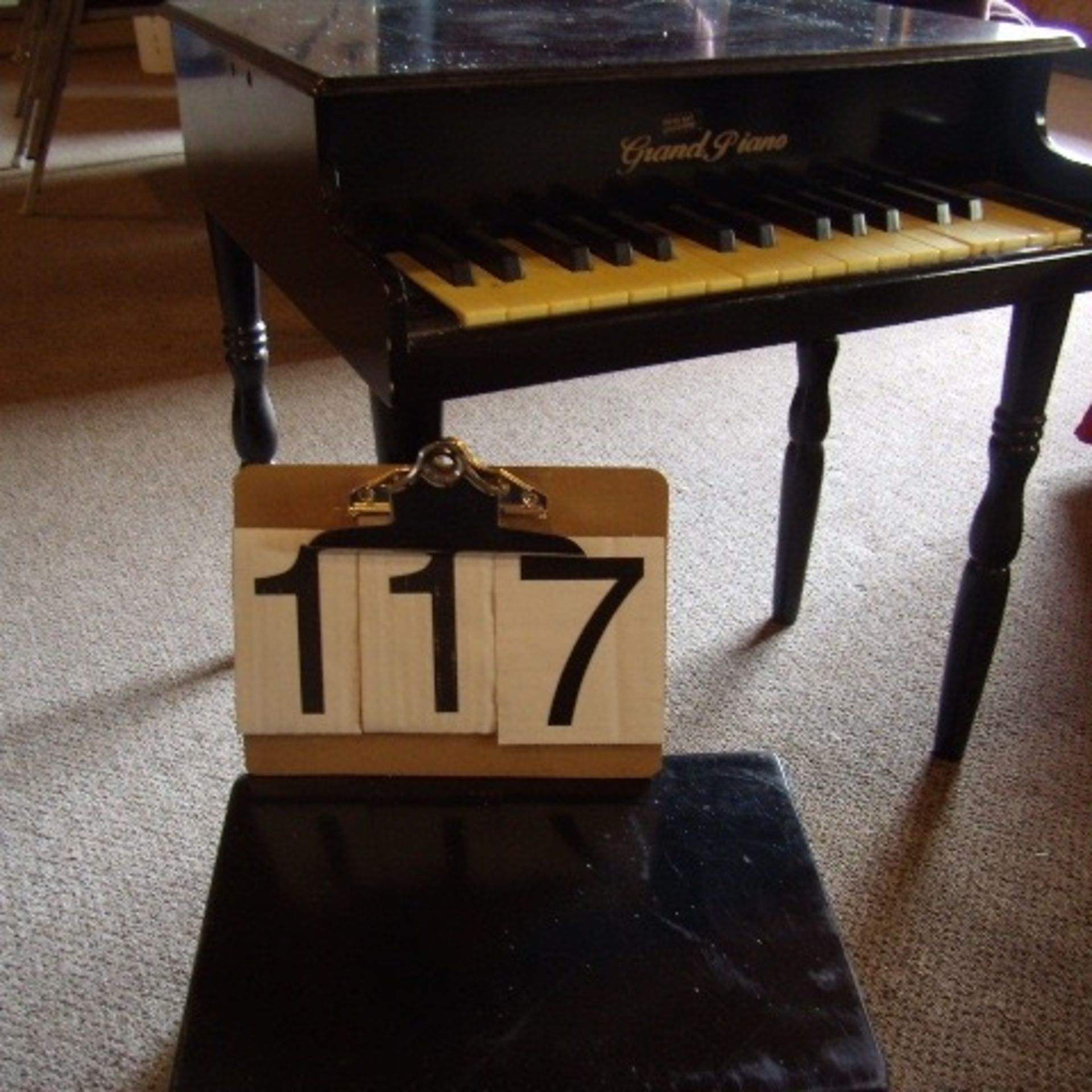Childs piano & bench