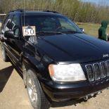 2002 Jeep, SUV ,black, 224,000 km sn: 1J8GW68J73C528479