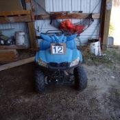 Gio Quad 110 cc , Blue