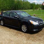 2011 Subaru 4dr sedan, black 166,000 km sn: 4S3BMG64B3262354